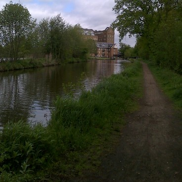 fishing the Wey in Addlestone